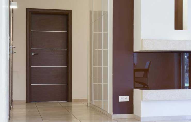 aluminium panel doors