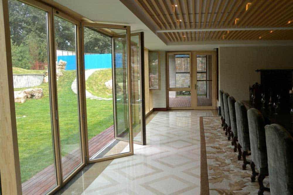 commercial bifold doors