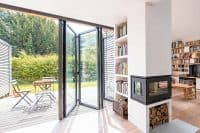 large bifolding door