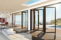 wooden bifold doors